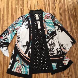 NWT Chicos  kimonos